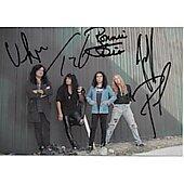 Ronnie james Dio,Jeff pilson,Vinny Apiece,Tracy G 4x6