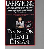 Taking on Heart Disease BOOK - Signed by author Larry King (signature personalized to Jason)