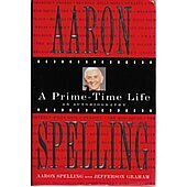 A Prime Time Life BOOK signed by author Aaron Spelling (Signature is personalized to Craig)