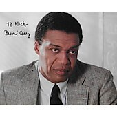 Bernie Casey 8X10 (Signature personalized to Nick) 1939-2017
