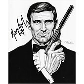 George Lazenby James Bond 007 8X10 #49
