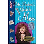 Rita Rudner's Guide to Men BOOK - Signed by author Rita Rudner (signature inscribed to Janet)