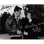 Robert Wagner & Shirley Anne Field The War Lover 8X10