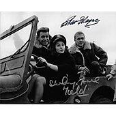 Robert Wagner & Shirley Anne Field The War Lover 8X10 #2