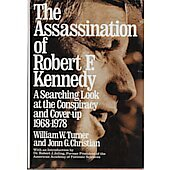 The Assassination of Robert F. Kennedy BOOK signed by authors William Turner and Jonn G. Christian (Signature is personalized to Craig Modderno)