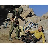 William Shatner and Bobby Clark Star Trek TOS 8X10