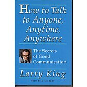 How To Talk To Anyone BOOK - Signed by author Larry King (signature personalized to Paula)
