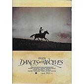 Dances with Wolves (1990) original Japanese movie program ***LAST ONE***