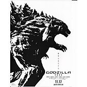 Godzilla Anime (2017) 8X10 Japanese magazine advert