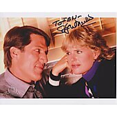 Stephen Macht Cagney & Lacey (Signature personalized to Ian)