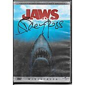 Jaws DVD cover signed by Richard Dreyfuss