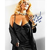 Agnes Bruckner The Anna Nicole Smith Story (signature personalized to Michael)