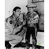 Ron Howard Andy Griffith Show w/ Ed Richard COA 3