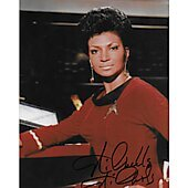 Nichelle Nichols Star Trek TOS 10