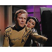William Shatner and France Nuyen Star Trek TOS 8X10 #2