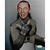 Frank Gorshin Batman Riddler w/ Ed Richard COA