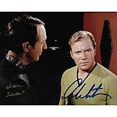 William Shatner & William Shallert (1922-2016) Star Trek TOS