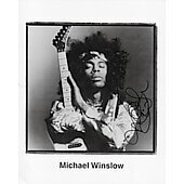 Michael Winslow as Jimi Hendrix 8X10