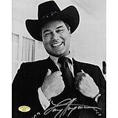 Larry Hagman Dallas w/ Ed Richard COA 2