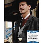 Val Kilmer Tombstone w/ Beckett COA #2