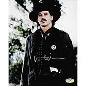 Val Kilmer Tombstone w/ Ed Richard COA 2