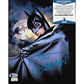 Val Kilmer Batman Forever w/ Beckett COA