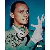 Frank Gorshin Batman Riddler w/ Ed Richard COA 2
