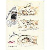 Joe Alves Jaws Original Conceptual Artwork #10