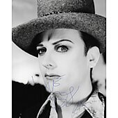 Boy George of Culture Club 5