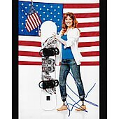 Amy Purdy - Team USA In Person Autographed 8x10 Olympic Skier