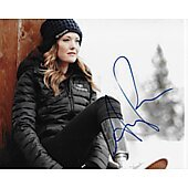 Amy Purdy - Team USA  Autographed 8x10 Olympic Skier #2