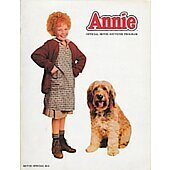 Annie 1982-83 original movie program