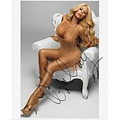 Aubrey O'Day In Person Autographed 8x10 Danity Kane,Playboy