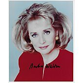 Barbara Walters Autographed 8x10 20/20 The View ABC News