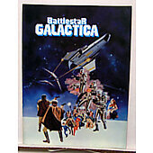 Battlestar Galactica 1979 original movie program