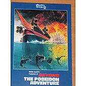 Beyond the Poseidon Adventure 1979 original Japanese movie program **LAST ONE***
