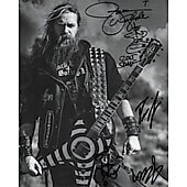 Black Label Society (signed by 4 members) **LAST ONE**