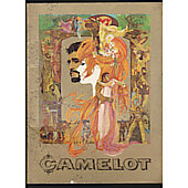Camelot 1967 original movie program