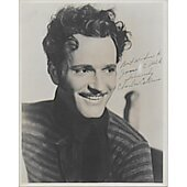 Charles Collins Vintage 8X10 photo (personalized to James C. Falk)