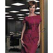 Christina Hendricks Autographed 8x10 Mad Men Drive