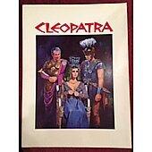 Cleopatra 1963 original movie program Elizabeth Taylor Richard Burton