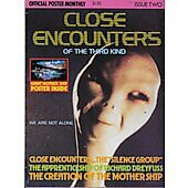 Close Encounters of the Third Kind official poster monthly magazine