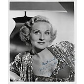 Constance Moore Vintage 8X10 photo (personalized to Jack, Ruth, Hortense and Lucille)
