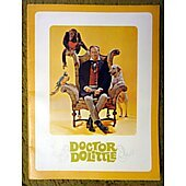 Doctor Dolittle 1967 original movie program
