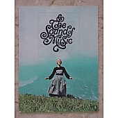 Sound of Music Movie Program 1965
