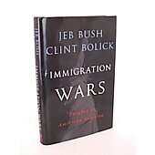 Immigration Wars BOOK - Signed by author Jeb Bush