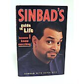 Sinbad's Guide To Life BOOK - Signed by author Sinbad (signature personalized to Risa)
