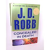 Concealed in Death BOOK - Signed by author J.D. Robb (Nora Roberts)