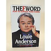 The F Word BOOK - Signed by author Louie Anderson