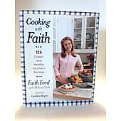 Cooking with Faith BOOK - Signed by author Faith Ford
